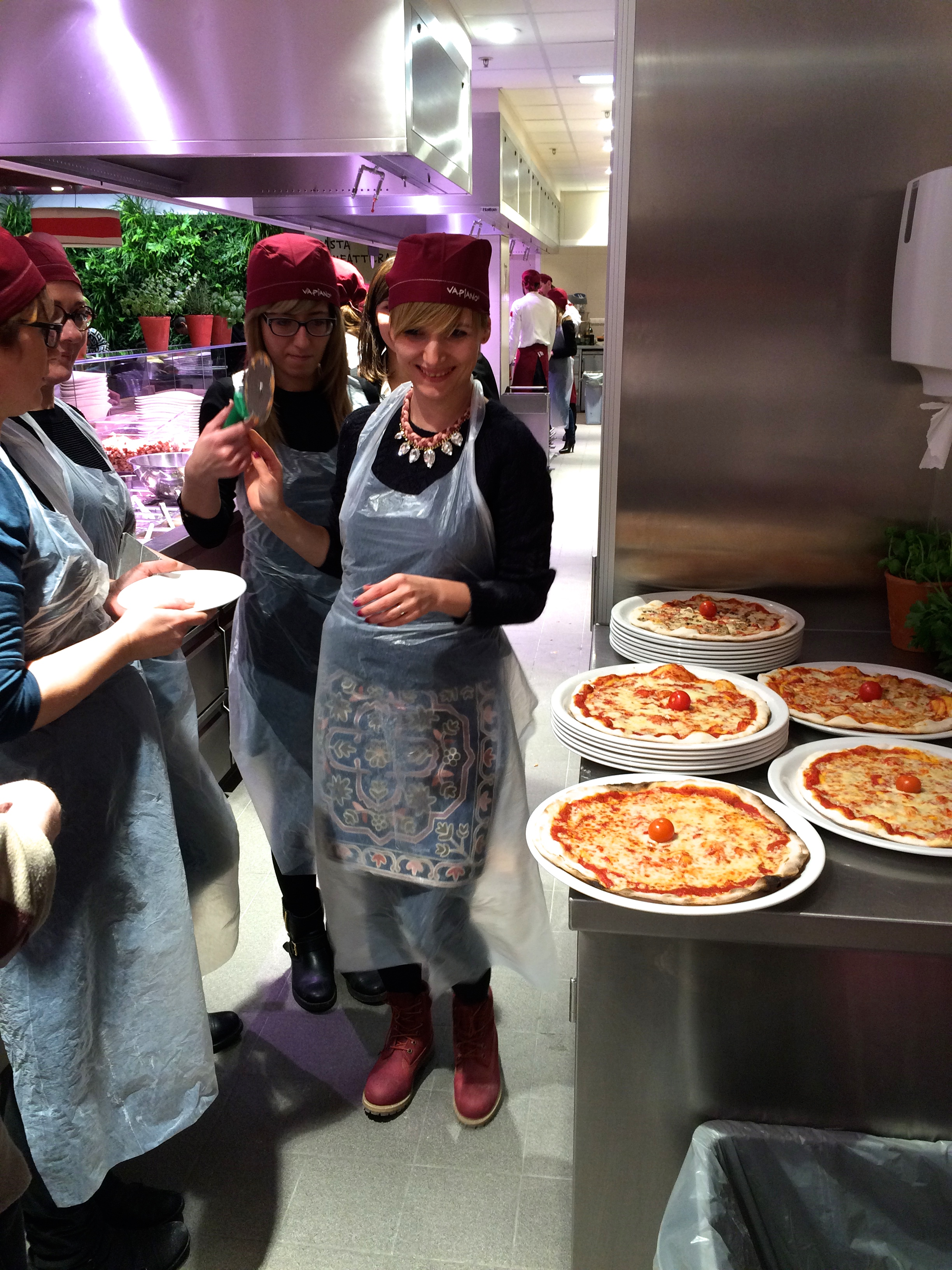 VAPIANO BLOG&COOK PARTY