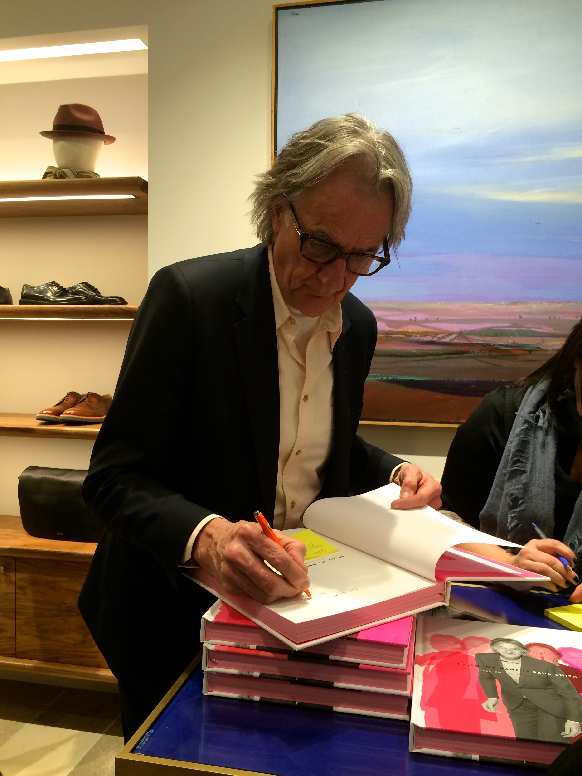 HELLO PAUL SMITH!